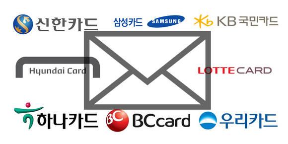 신용카드 '문자알림'서비스, 8개사 모두 유료