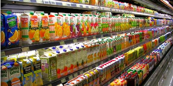 어린이 음료 '당 함량', 초코파이와 맞먹는 수준