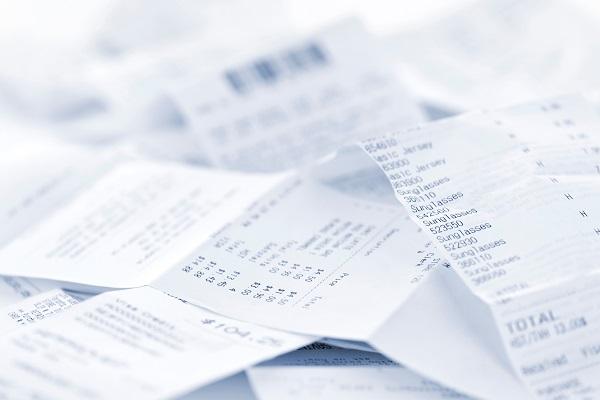 신용카드 영수증에서 개인 금융정보 줄줄 샌다